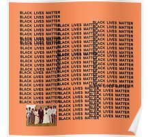 Black Lives Matter - The life of Pablo Poster