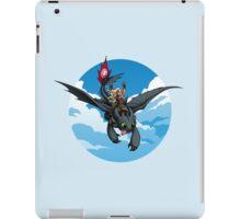 Toothless Targaryen Blue iPad Case/Skin
