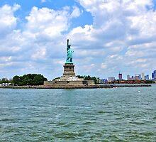 Lady Liberty by Karen  Rubeiz