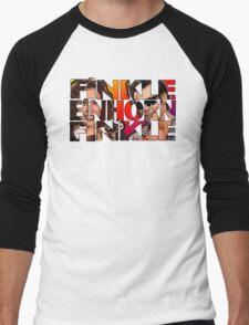 Finkle Is Einhorn Men's Baseball ¾ T-Shirt
