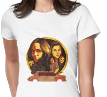 Wynonna Earp Poster Womens Fitted T-Shirt