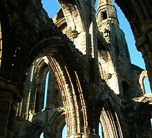 Whitby Abbey Arches by VonRooke