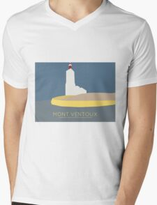 Mont Ventoux Mens V-Neck T-Shirt