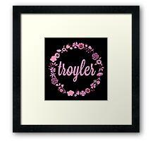 Troyler Flower Crown Framed Print