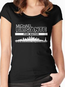 Michael Brigante For Mayor Women's Fitted Scoop T-Shirt