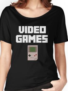 Video Games Women's Relaxed Fit T-Shirt