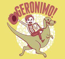 Geronimo-Dino! Kids Tee
