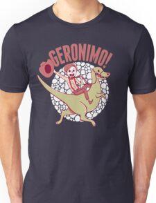 Geronimo-Dino! Unisex T-Shirt
