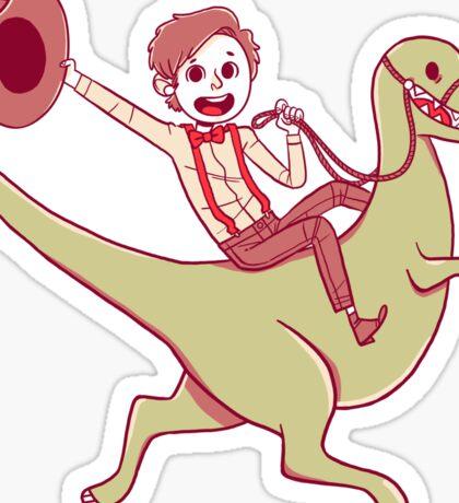 Geronimo-Dino! Sticker