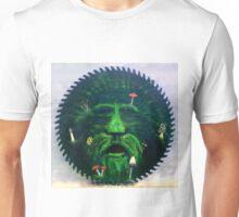 Mushrooms and the green man Unisex T-Shirt