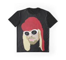KC Vector Portrait - Black Graphic T-Shirt