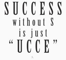 Success. One Piece - Short Sleeve