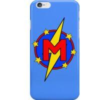 My Cute Little Super Hero - Letter M iPhone Case/Skin