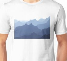 The Grand Canyon Blues Unisex T-Shirt