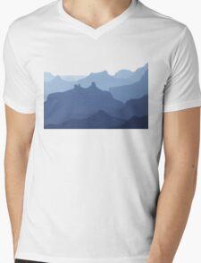 The Grand Canyon Blues Mens V-Neck T-Shirt