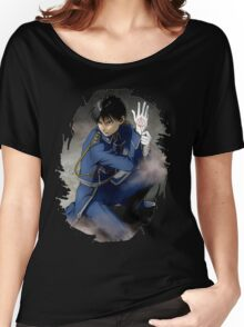 Fullmetal Alchemist Roy Mustang Women's Relaxed Fit T-Shirt