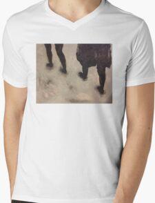 Walks Mens V-Neck T-Shirt