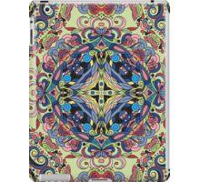 Boho Geometric Mandela Pattern iPad Case/Skin