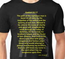 Ezekiel 25:17 Pulp Fiction Unisex T-Shirt