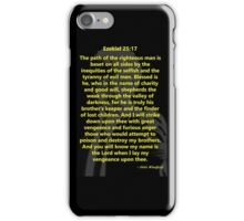 Ezekiel 25:17 Pulp Fiction iPhone Case/Skin