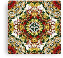Boho Geometric Nandeal Pattern 1 Canvas Print