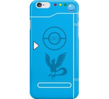 PokemonGO Team Mystic Themed Pokedex Case iPhone Case/Skin