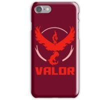 Pokemon Go! Team Valor iPhone Case/Skin