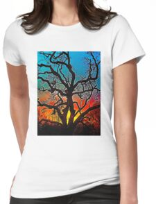 Oaks 1 Womens Fitted T-Shirt