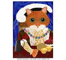 Historic Cats - Henry VIII Photographic Print