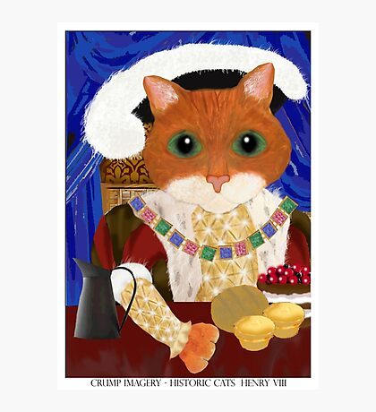 Historic Cats - Henry VIII Photographic Print