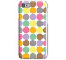 Candy Rounds White (Coal available too) iPhone Case/Skin