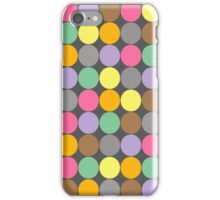 Candy Rounds Coal (White Available too) iPhone Case/Skin