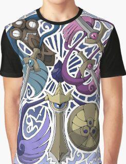 Honedge! Doublade! Aegislash! Graphic T-Shirt