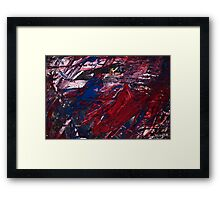 Blood Mountain Framed Print