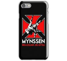 Mynssen Brazilian Jiu-Jitsu iPhone Case/Skin