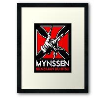 Mynssen Brazilian Jiu-Jitsu Framed Print