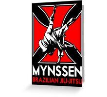 Mynssen Brazilian Jiu-Jitsu Greeting Card