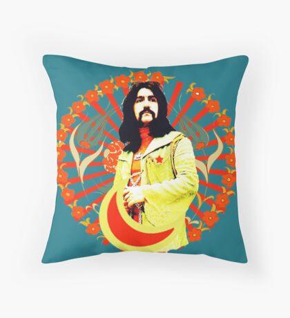 Barış Manço wonderful exclusive design! Throw Pillow
