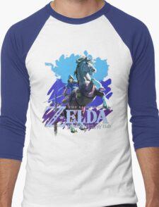 Legend of Zelda: Breath of The Wild Men's Baseball ¾ T-Shirt