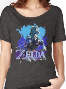 Legend of Zelda: Breath of The Wild Women's Relaxed Fit T-Shirt