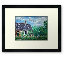 The Old Station Tea Room, near Scarborough Framed Print