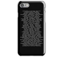 Black Lives Matter - 07/07/2016 (White Font) iPhone Case/Skin