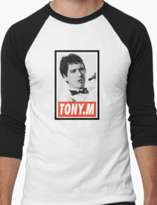 (MOVIES) Tony Montana Men's Baseball ¾ T-Shirt