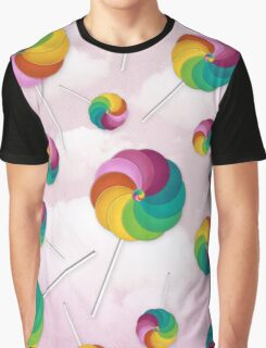 Lollipop Rain Graphic T-Shirt