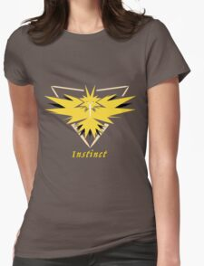 Team Yellow Womens Fitted T-Shirt