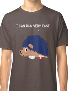Blue Hedgehog Classic T-Shirt