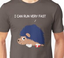 Blue Hedgehog Unisex T-Shirt