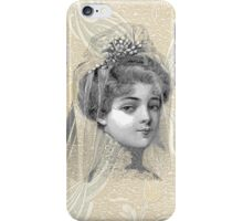 Victorian Edwardian Steampunk Bride iPhone Case/Skin