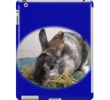 Little bunny picking hay iPad Case/Skin