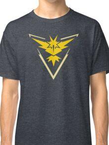 Pokemon GO Team Instinct | Team Yellow Classic T-Shirt